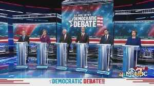 Local Residents React To Democratic Debate [Video]