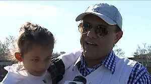 Families Reunite Following Weeks of Quarantine at Travis Air Force Base in California [Video]