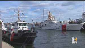 First Look At New Coast Guard Ship [Video]