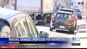 Parking changes proposed for downtown Medford [Video]