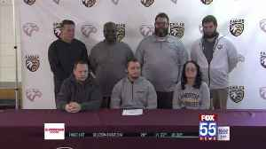 Columbia City's Cotter, Melton sign for college [Video]
