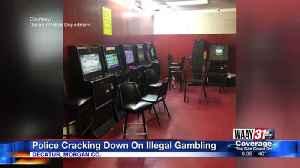 Decatur Gambling Arrest [Video]