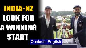 India vs NZ 1st Test: Both the teams eye winning start in Wellington | Oneindia News [Video]