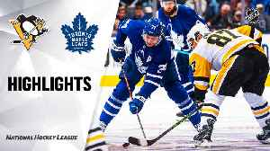 NHL Highlights | Penguins @ Maple Leafs 2/20/2020 [Video]