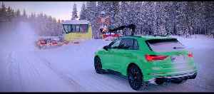 Audi RS Q3 and Audi RS Q3 Sportback Winter Trailer [Video]