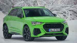 The new Audi RS Q3 Exterior Design in Kyalami Green [Video]