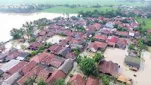 Hundreds of homes affected by floods in Karawang region of Indonesia [Video]