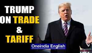 Trump complains about Indian tariffs, 'have been hit very hard' | Oneindia News [Video]