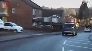 Dramatic, High-Speed Pursuit Through Residential Area Caught on Police Dashcam [Video]