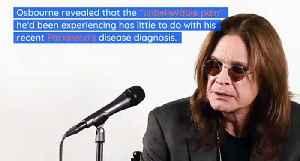 Ozzy Osbourne Is in 'Unbelievable Pain' Following 2019 Fall [Video]