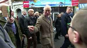 Prince Charles visits flood affected residents of Pontypridd [Video]