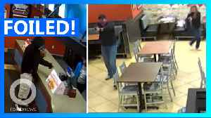 Cop couple on date night foil armed robber [Video]