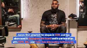 LeBron James Sued for $33 Million Over 'I Am More Than An Athlete' Slogan [Video]