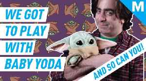 Official Baby Yoda toys are finally here! [Video]