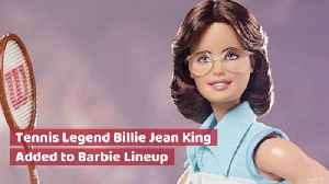 Billie Jean King Becomes A Barbie [Video]