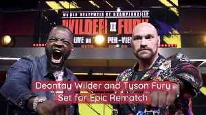 Deontay Wilder And Tyson Fury Are At It Again [Video]