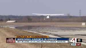 Federal grant helps clear path for Lawrence airport improvements [Video]