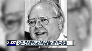 Another man accuses late U of Michigan doctor of sex abuse [Video]