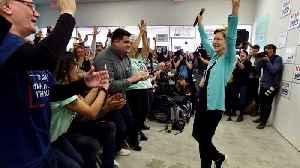 News video: Elizabeth Warren Rallies Nevada Supporters After Debate