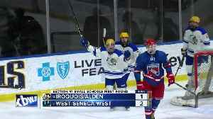 Section 6 Hockey: Small School First Round Recap [Video]