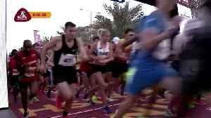 Yeshaneh smashes women's half marathon world record [Video]