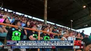 Bernie Sanders will visit Bakersfield this afternoon [Video]
