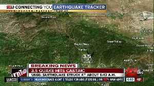 3.5 quake hits Castaic [Video]