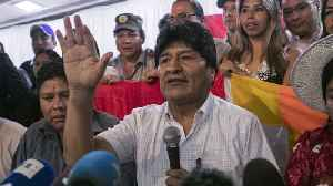 Morales Blocked From Running For A Seat In Bolivia's Senate [Video]