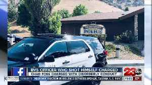 Criminal charges filed against Bear Valley police officer who accidentally shot himself in the leg [Video]