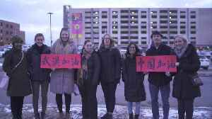 A message of support for coronavirus victims in China [Video]