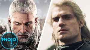 Top 10 Things The Witcher Show Did Better Than the Games [Video]