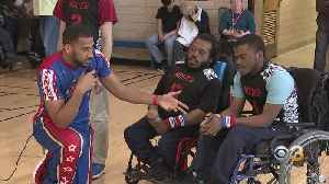 Harlem Globetrotters Spread Message Of Inclusion And Bullying Prevention [Video]