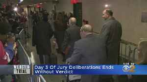 Harvey Weinstein Trial: Day 3 Of Jury Deliberations Ends Without Verdict [Video]
