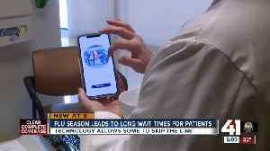 Flu season leads to long wait times for patients [Video]