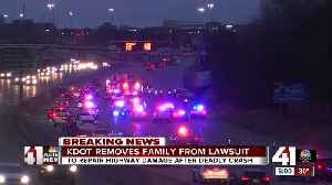 KDOT removes family that lost 2 children in fatal wreck from lawsuit for highway damage [Video]