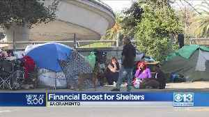 Kaiser Gives Financial Boost To Shelters [Video]