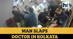 Watch: Man slaps doctor after family member dies at Kolkata hospital [Video]