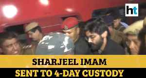 Watch: Sharjeel Imam brought to Guwahati, sent to 4-day police custody [Video]