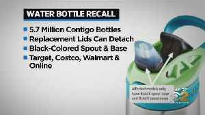 Contigo Water Bottles Recalled Over Possible Choking Hazard [Video]