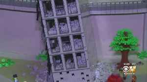 'Leaning Tower Of Dallas' Commemorated In LEGOs [Video]