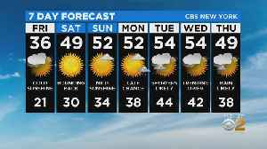 New York Weather: CBS2 2/20 Nightly Forecast at 11PM [Video]