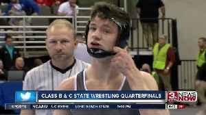 Class B & C State Wrestling Quarterfinals [Video]
