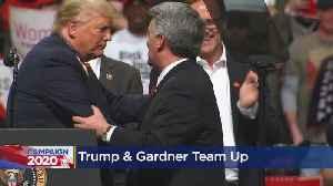 Pres. Donald Trump Campaigns For Sen. Cory Gardner In Colorado Springs [Video]