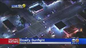 Long Beach Police Fatally Shoot Man Suspected Of Shooting 2 In Liquor Store [Video]