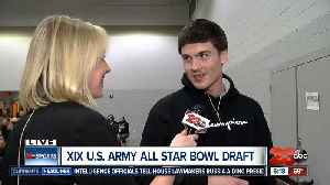 2020 U.S. Army All Star Bowl draft night [Video]