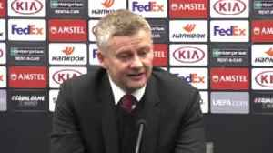 Solskjaer laments ball in Brugge draw [Video]