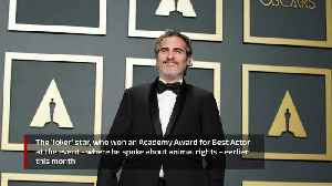 Joaquin Phoenix rescued cow and calf after Oscars speech