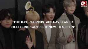 BTS crash TikTok with their song premiere [Video]