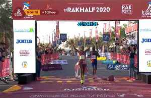 Yeshaneh smashes women's half marathon world record [Video]