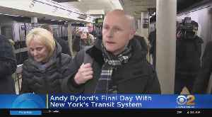 Transit Boss Andy Byford's Last Day [Video]